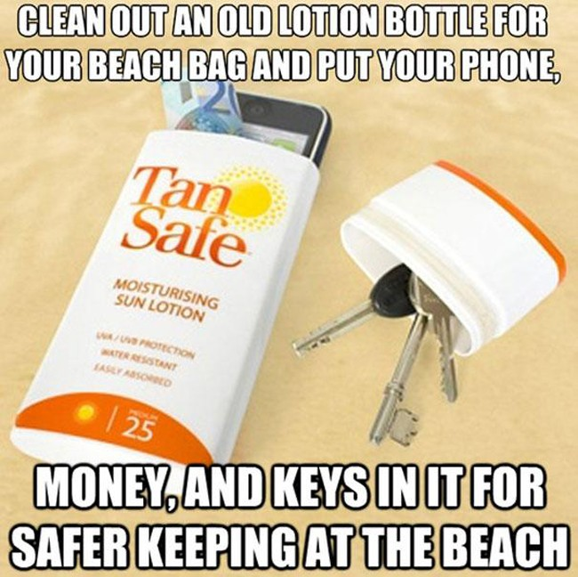 How to keep your valuable stuff safe at the beach (30 of 50)