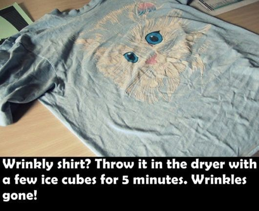 How to unwrinkle a shirt in a flash (31 of 50)