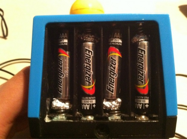 Use AAA batteries in devices that require AA (44 of 50)