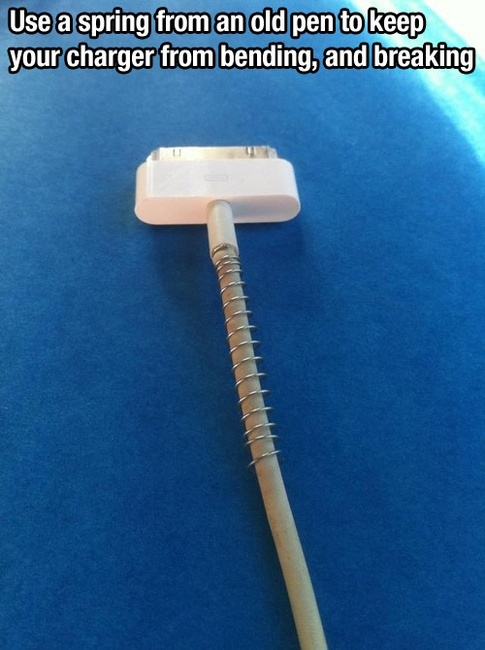 How to stop your charger wire from bending or breaking (47 of 50)