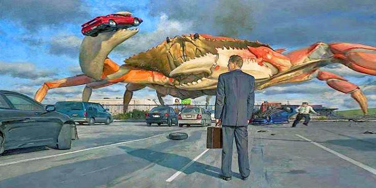 Giant Crab Crabzilla Is Real - 99.