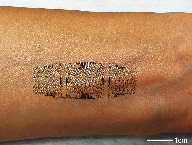 Subdermal Implant Smart Tattoo.