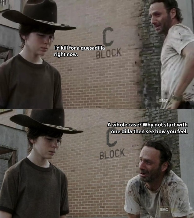 Walking Dead Dad jokes 26.