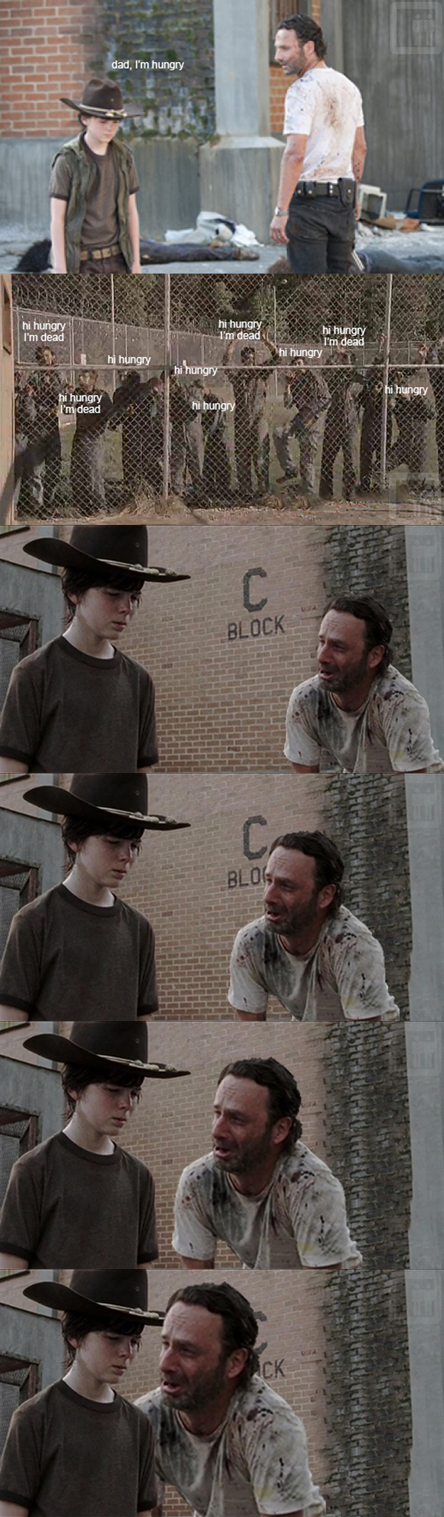 Walking Dead Dad jokes 28.