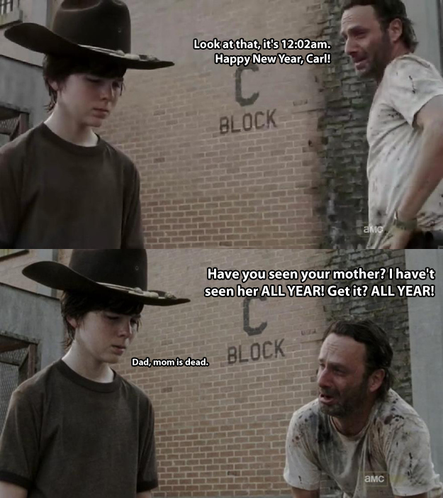 Walking Dead Dad jokes 30.