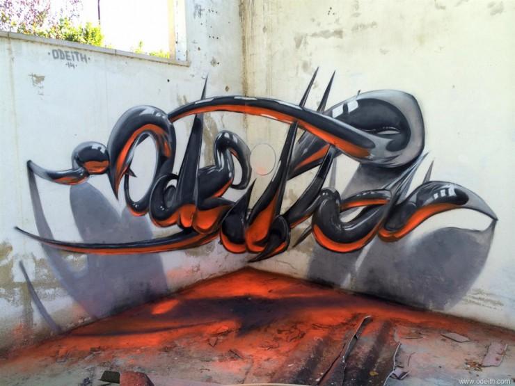 anamorphic 3D Graffiti 07.