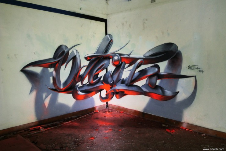 anamorphic 3D Graffiti 08.