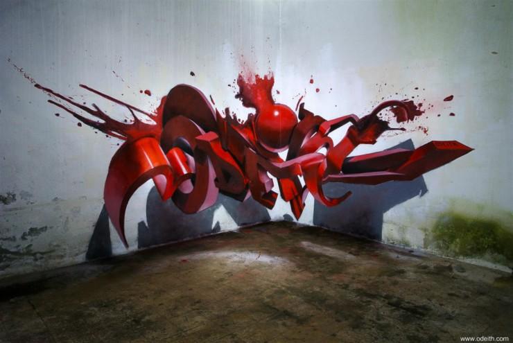 3D Graffiti Letters 06.