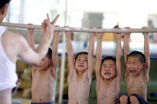 Chinese Children Training To Become Olympic Athletes - 02.