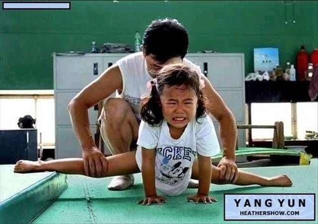 Chinese Children Training To Become Olympic Athletes - 06.