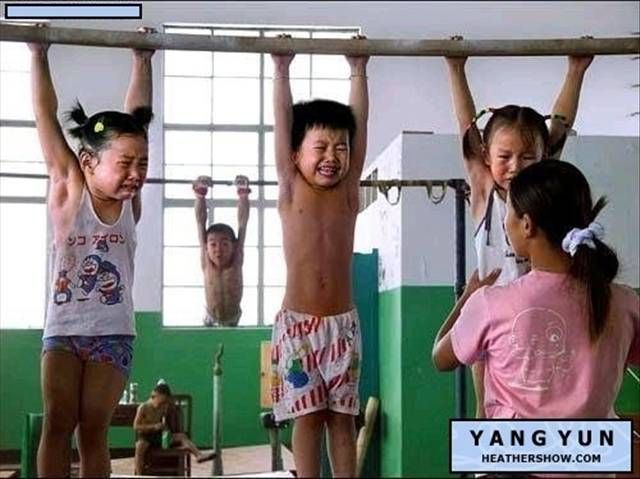 Chinese Children Training To Become Olympic Athletes - 07.