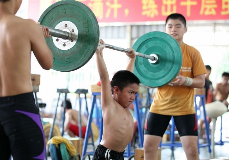 Chinese Children Training To Become Olympic Athletes - 13.