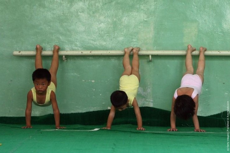 Chinese Children Training To Become Olympic Athletes - 15. width=