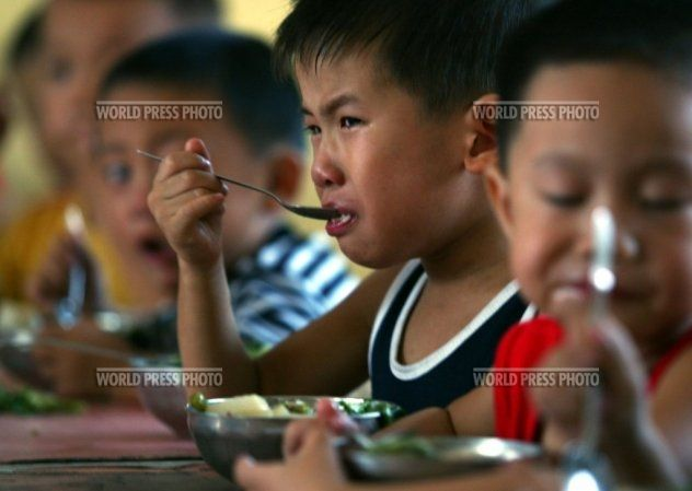 Chinese Children Training To Become Olympic Athletes - 17.