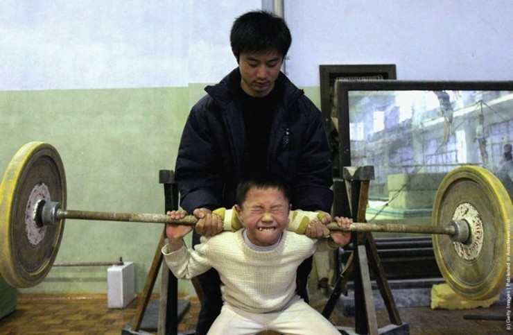 Chinese Children Training To Become Olympic Athletes - 18.