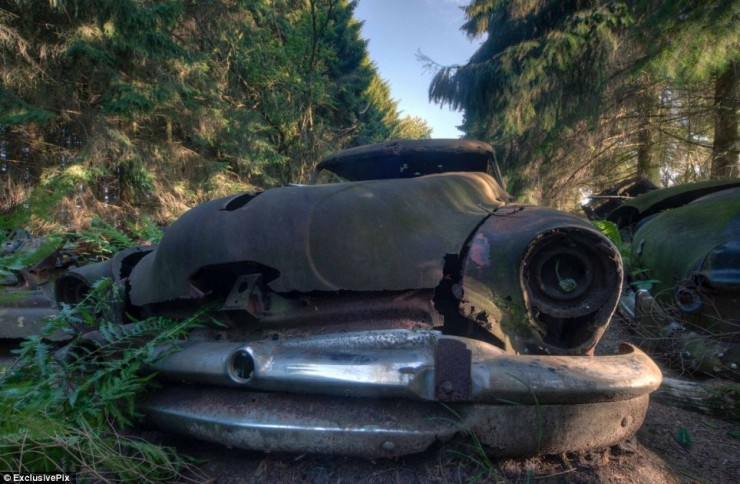 Photos From Abandoned Chatillon Car Graveyard - 04.