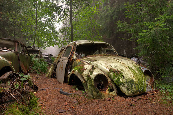 Photos From Abandoned Chatillon Car Graveyard - 05.