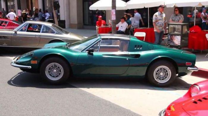 Buried 1974 Ferrari Dino 06.