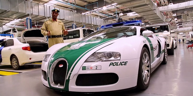 Dubai Police Cars Include Crazy Supercars And Sports Cars - 01.