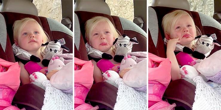 Sad Little Girl Gets Adorably Emotional - 11.