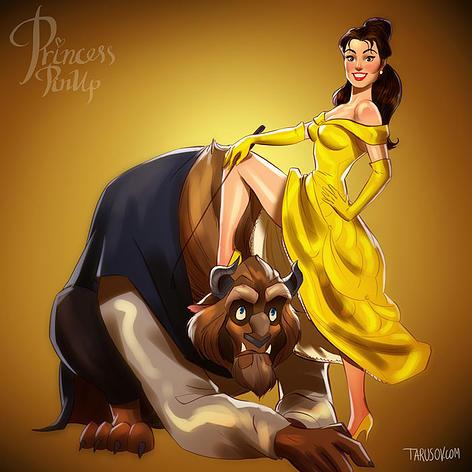 Disney Princess Pin Up Girls - 05.