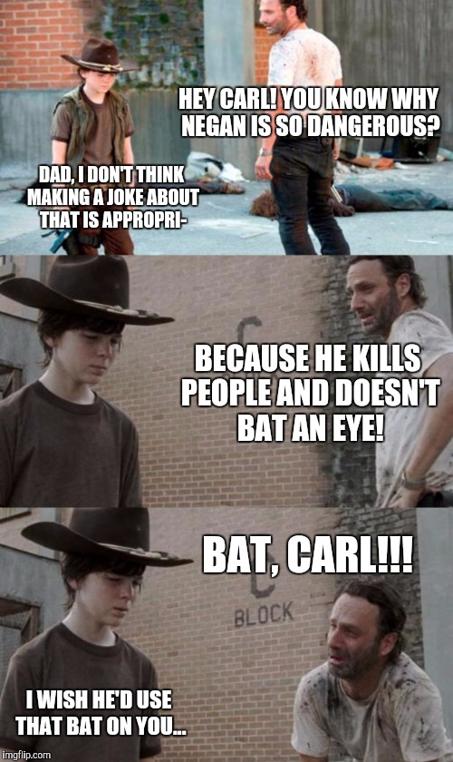 The Walking Dead Carl Meme.