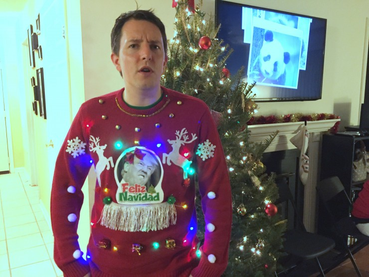 awful xmas sweaters.