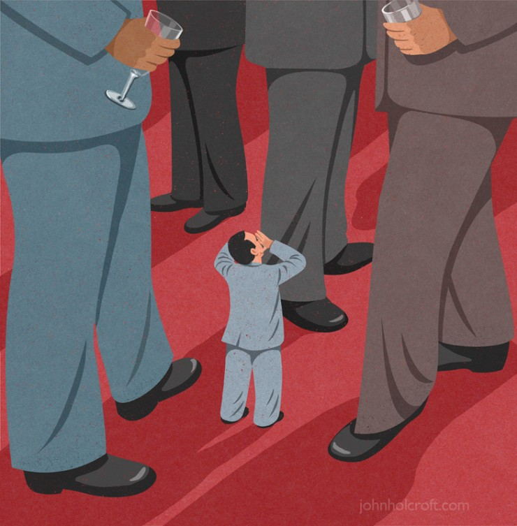 John Holcroft Satirical Illustrations 10.
