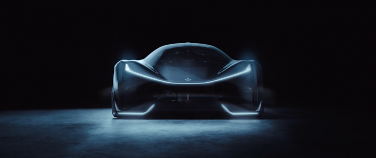 Faraday Future Concept Car 01.