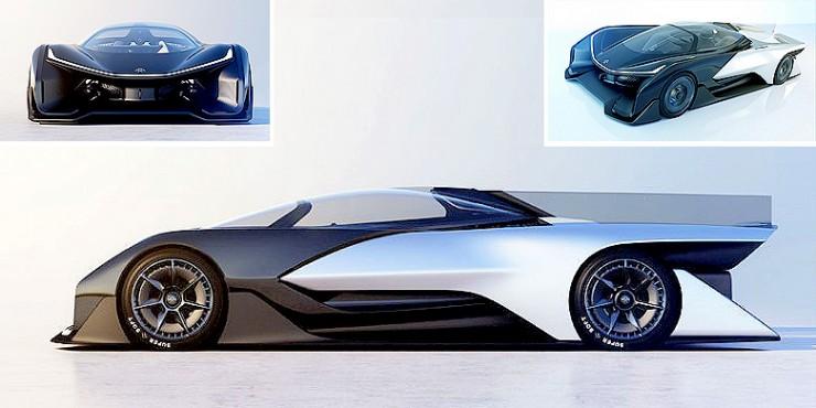 Faraday Future FFZERO1.