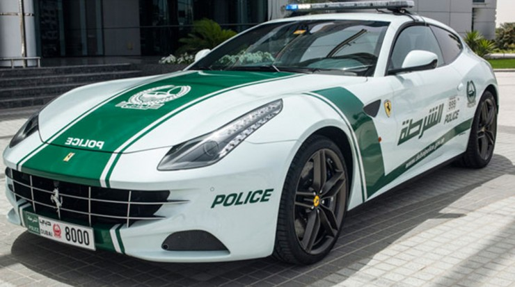 Dubai police cars are The Fastest Police Cars In The World - 03.