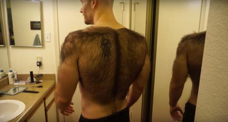 Hairiest Man In The World Devin Cara 01.