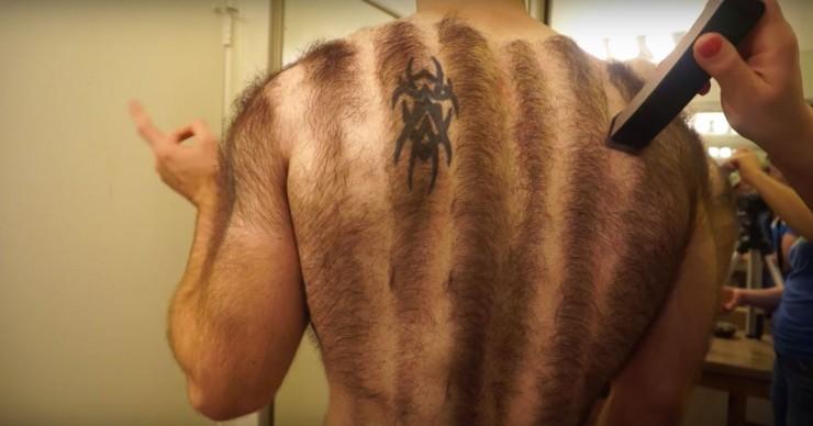 Hairiest Man In The World Devin Cara 03.