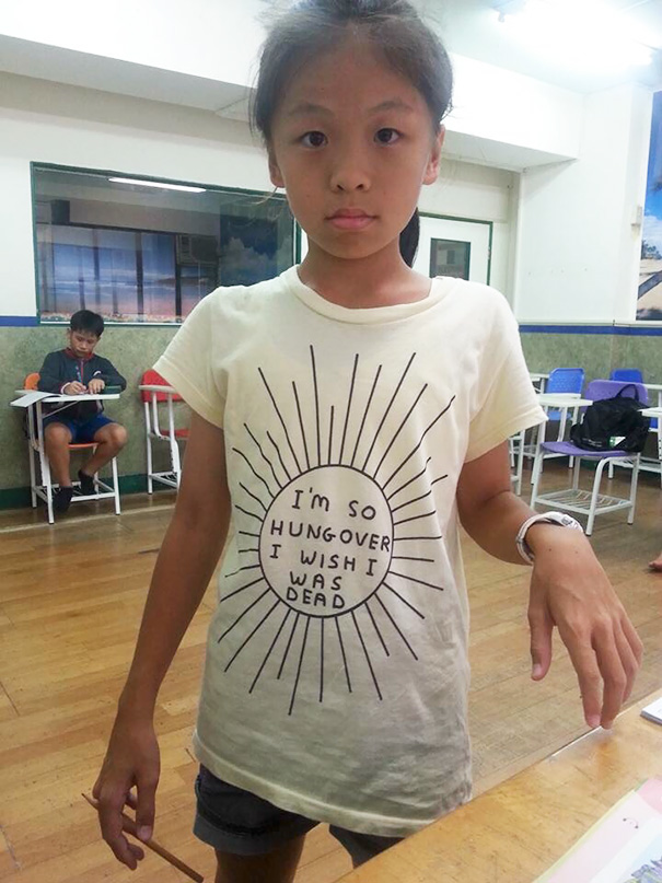 Poorly Translated Engrish T-Shirts In Asia - 23.