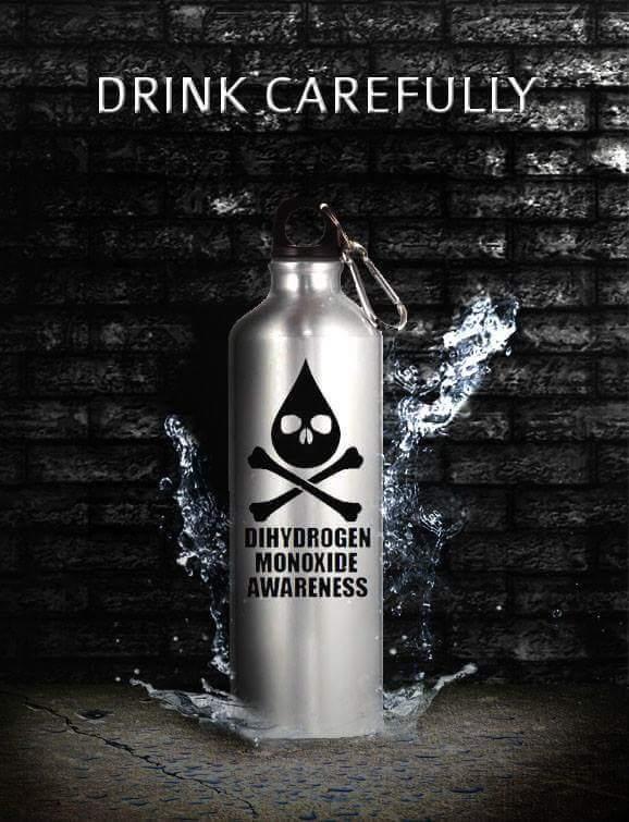 dihydrogen monoxide meme - 15
