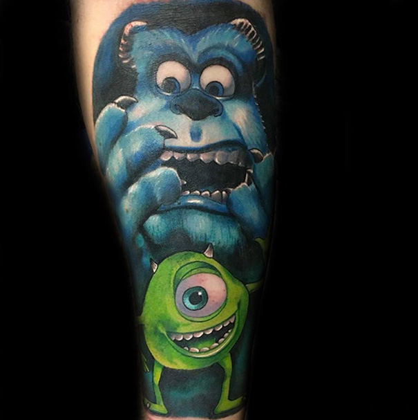 Themed Pixar Tattoo Creations 05.