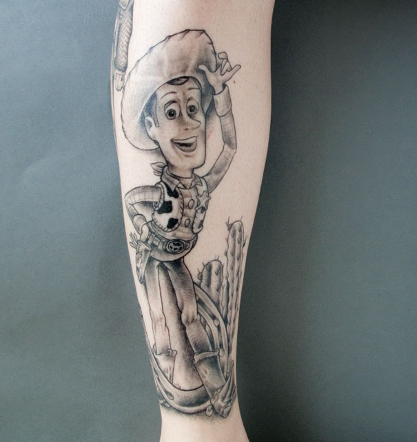Themed Pixar Tattoo Creations 06.