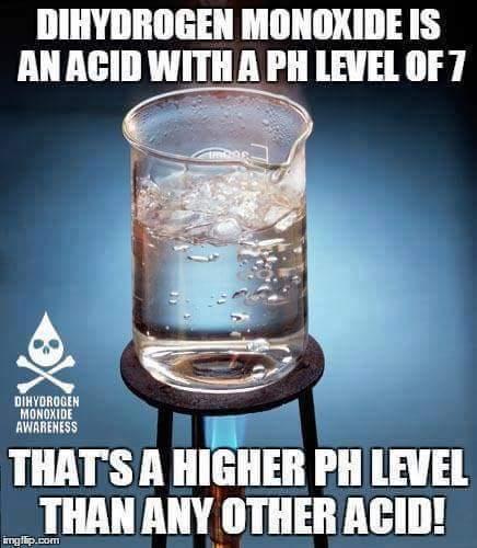 dihydrogen monoxide meme - 12