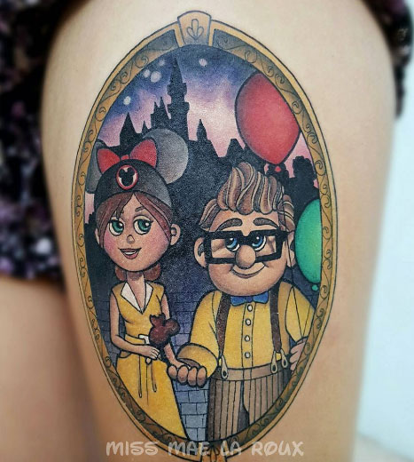 Themed Pixar Tattoo Creations 09.