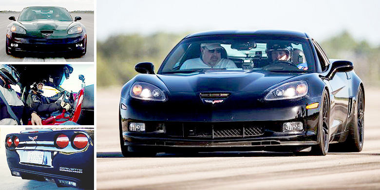 corvette sets new land speed record for electric vehicle. Black Bedroom Furniture Sets. Home Design Ideas