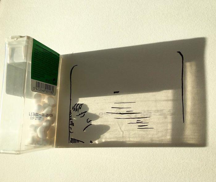 Belgium Artist Vincent Bal Shadow Art 03.