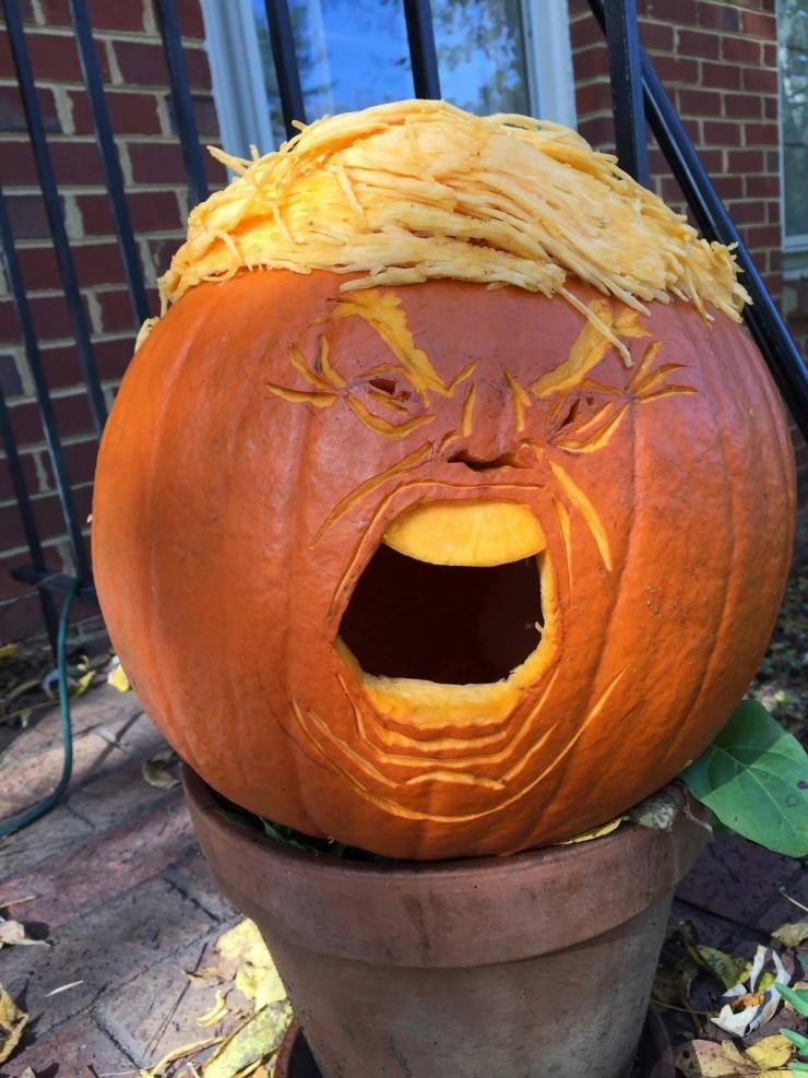 Trumpkins Will Your Halloween Pumpkins Look Scary 02.