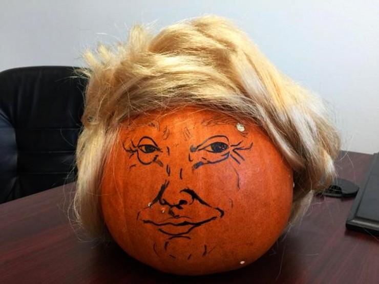 Trumpkins Will Your Haloween Pumpkins Look Scary 01.