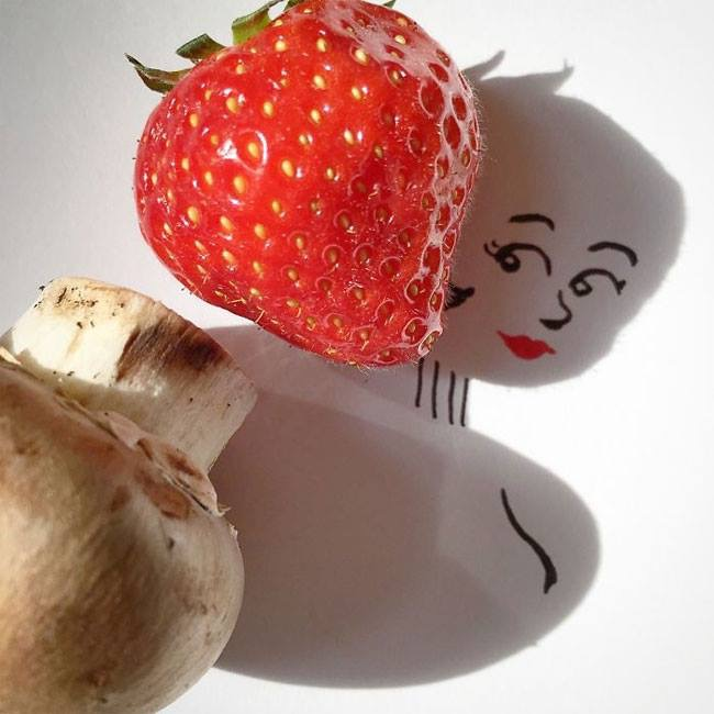 Everyday Objects Tuned Into Awesome Doodles 07.