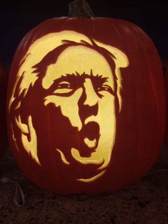 Trumpkins Will Your Halloween Pumpkins Look Scary 03.
