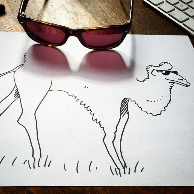 Everyday Objects Tuned Into Awesome Doodles 02.