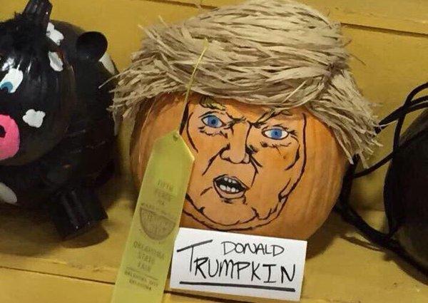 Trumpkins Will Your Halloween Pumpkins Look Scary 05.