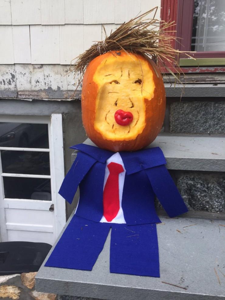 Trumpkins Will Your Halloween Pumpkins Look Scary 06.