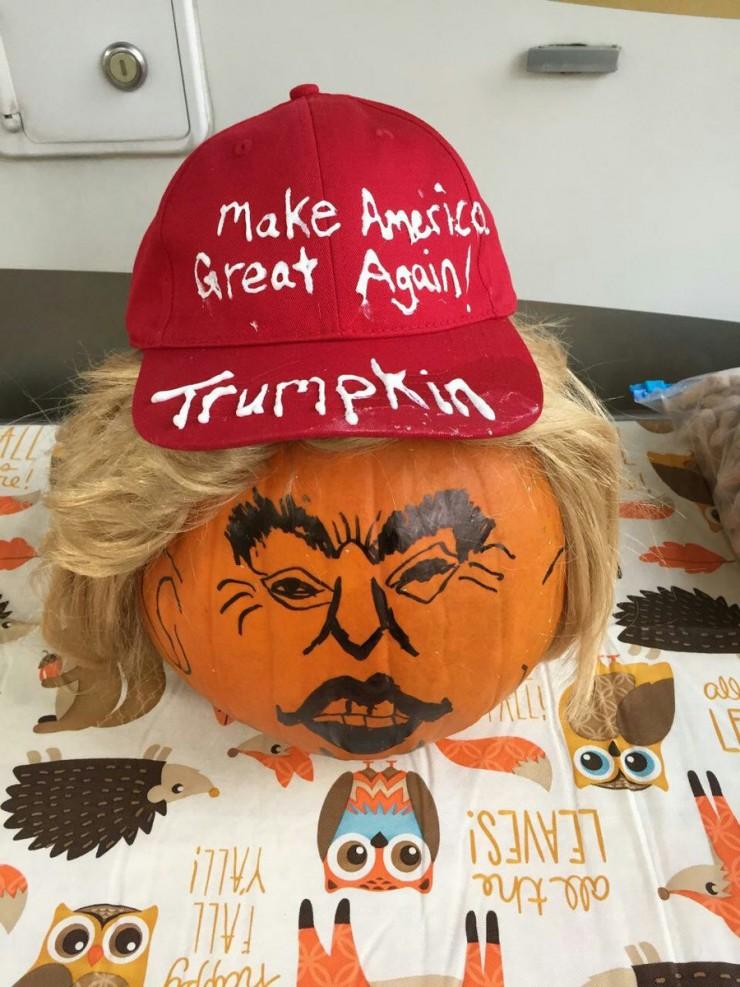 Trumpkins Will Your Halloween Pumpkins Look Scary 07.