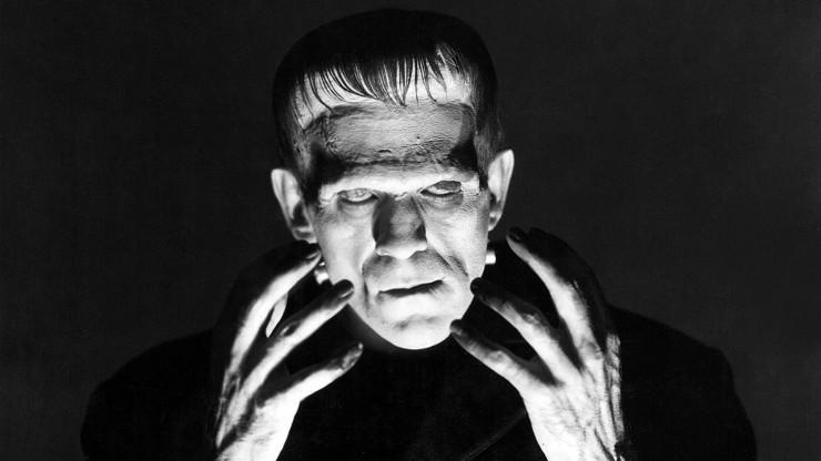 Classic Halloween Monsters Frankenstein.